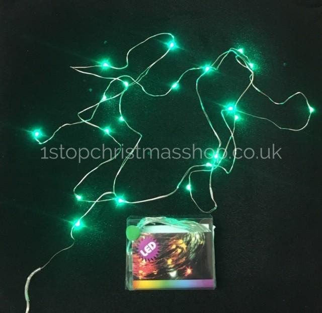 lowest price 19130 e30ef Firefly LED String Lights - Green - JD270351-GR